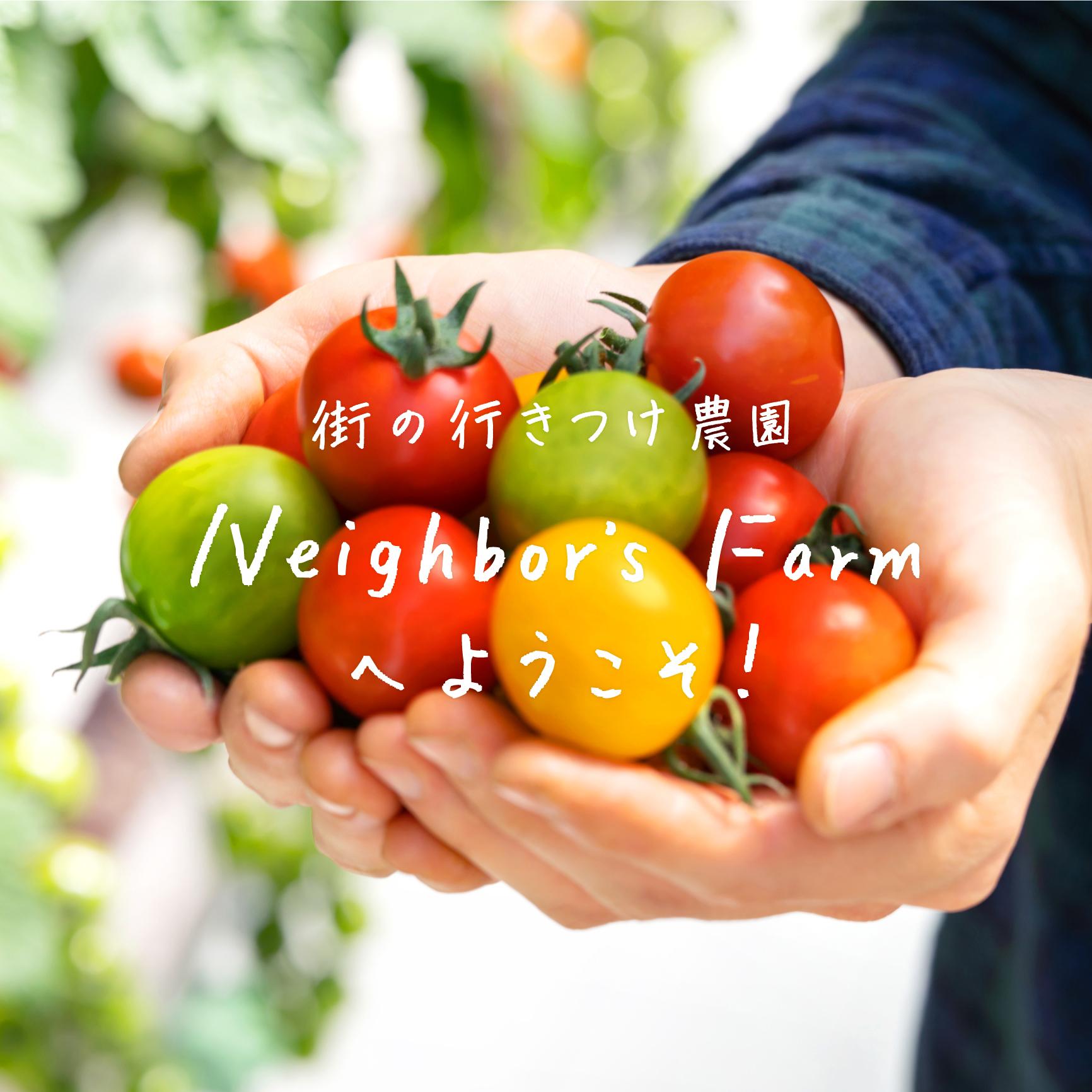 Neighbor's Farm【ネイバーズファーム】   東京、日野市の街の行きつけ農園